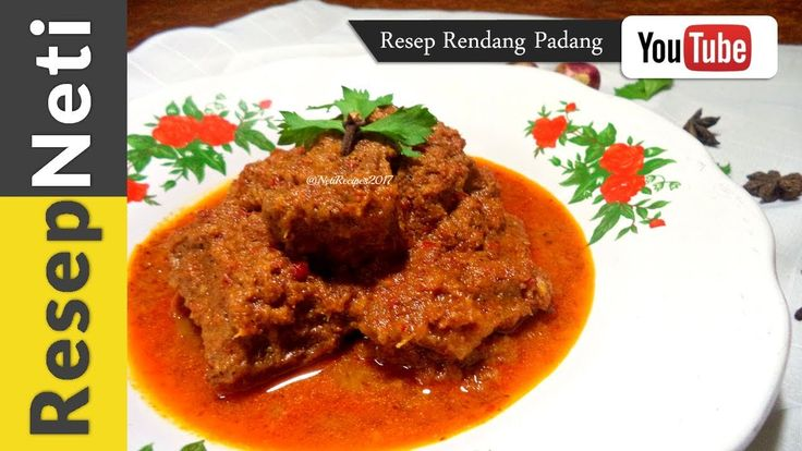 New video recipes about RENDANG PADANG.