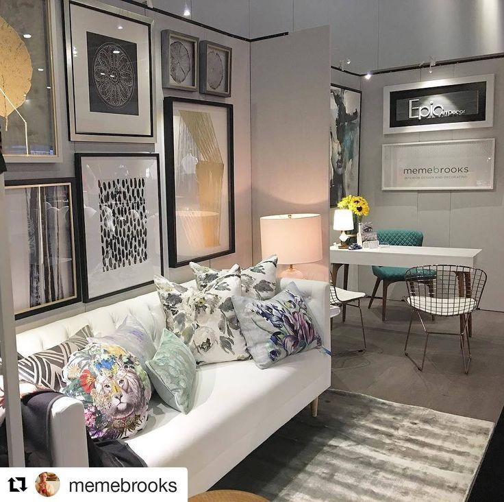 #Repost @memebrooks (@get_repost)  Here we go @epicartd ! All ready to go with @designersguild and our furniture favs from @style_in_form  So much excitement for MBD debut @idsvancouver #memebrooksdesign #interiordesign #show
