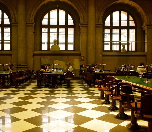 La Biblioteca Nacional De Chile, Santiago