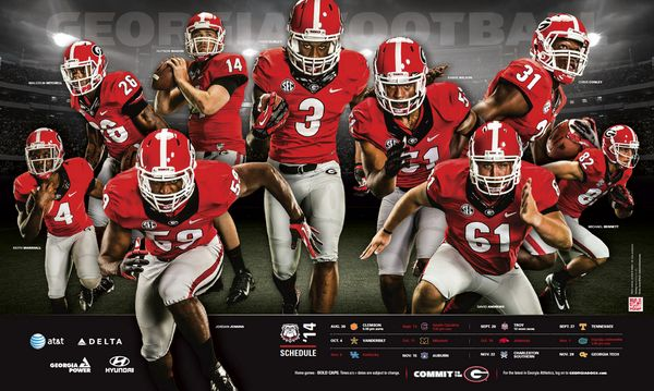 Georgia Football | Sport Poster Swag