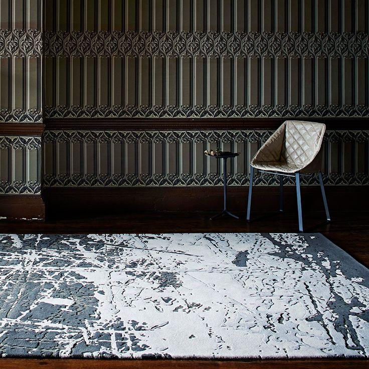 'Scratched' rug by Staffan Tollgård, from £695 per square metre, JAB Anstoetz (jab-uk.co.uk)