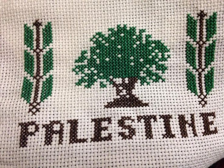 Together can be found in Palestine; olive trees and wheat