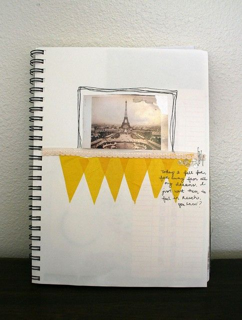 17 best images about the amazing minimalist scrapbook on for Minimal art journal