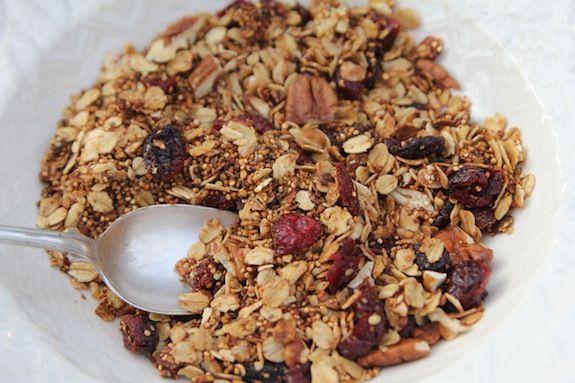 Cranberry and Orange Granola | Breakfast | Pinterest