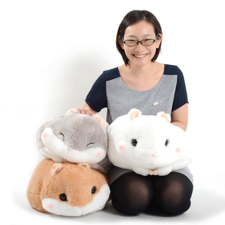 Coroham Coron Mocchiri Hamster Plush Collection (Big)