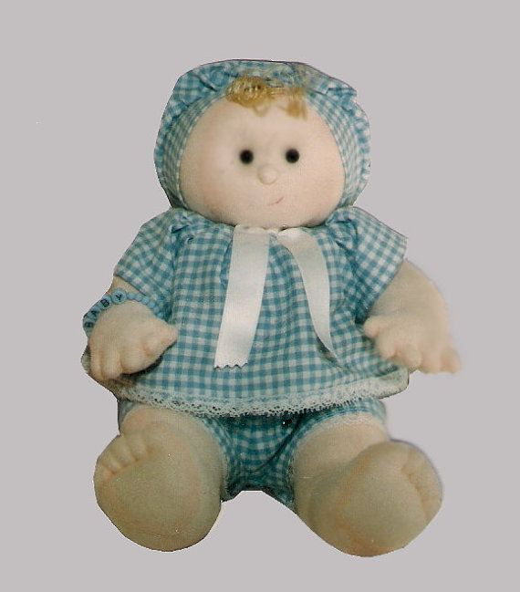 Soft Sculpture Doll,  Download Digital Pattern:  Pretty Boy,  fully jointed and poseable.