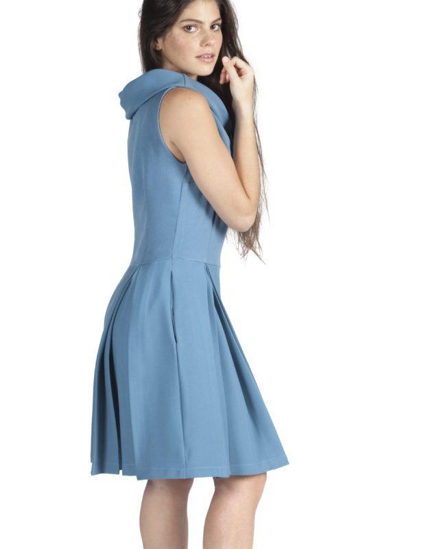 Vestido Jackie Azul de Popisima