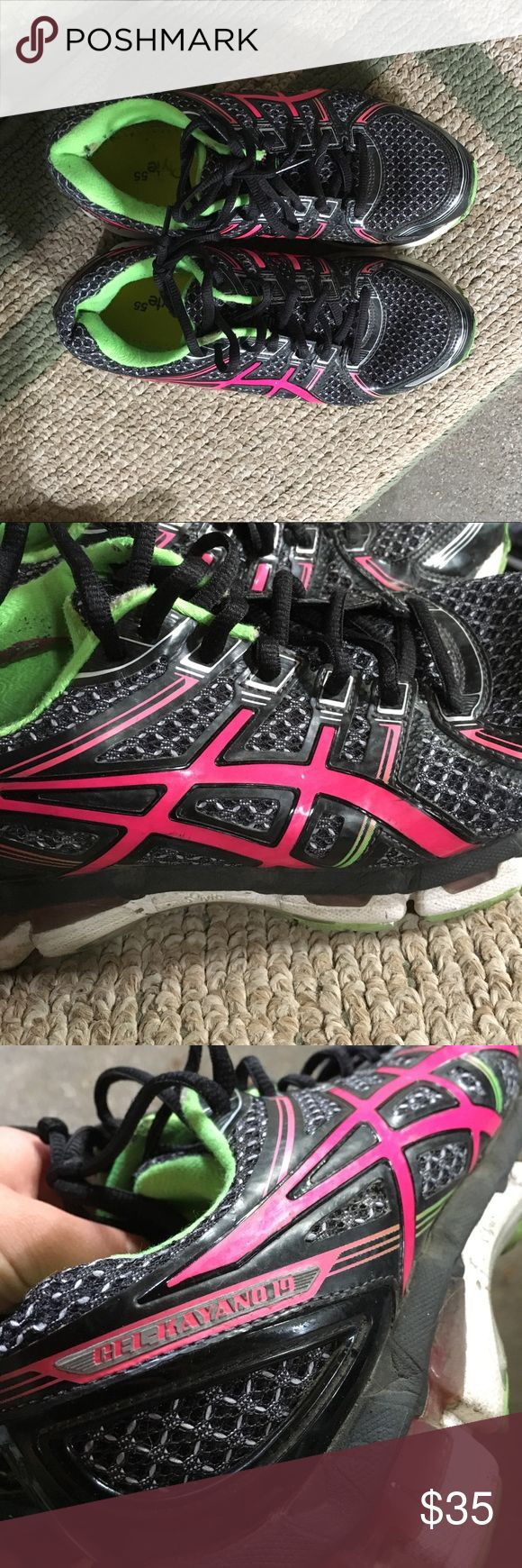 Asics Gel-Kayano 19 Great running or workout shoes Asics Shoes Sneakers