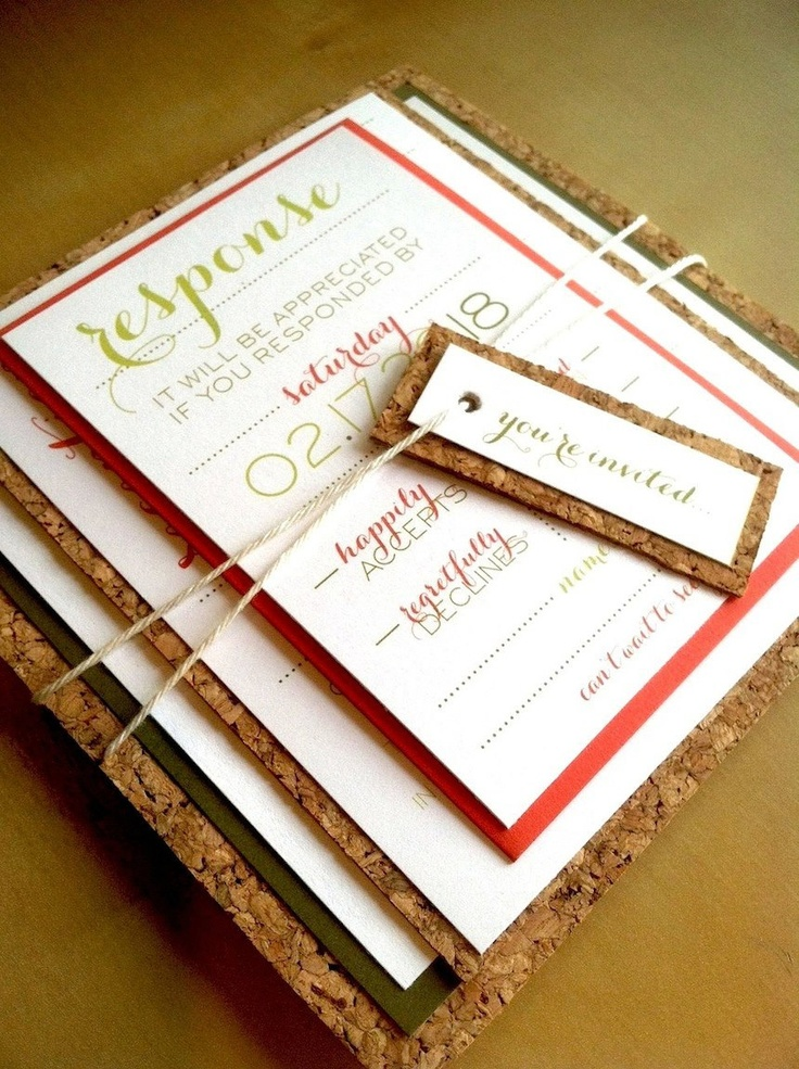 15 best S&K wedding - rugged invitations images on Pinterest ...
