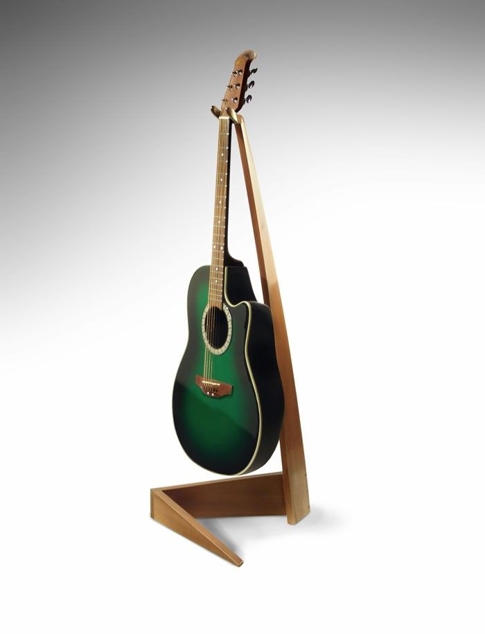 Maple guitar stand.  My hummingbird would look good on this.