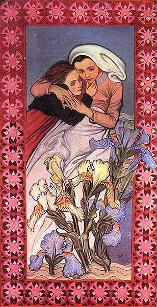 Art nouveau ou modernisme polonais. Oeuvre de Wyspianski.