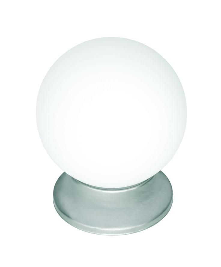 "Sphere 6"" DIY Glass Ball in Brushed Steel"