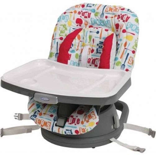 Graco SwiviSeat Booster Seat Yummy High Chair Rotate Infant Baby Toddler #Graco