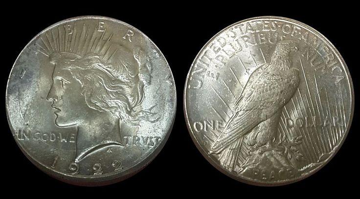 1922-S San Francisco Mint Silver Peace Dollar Lustrous Gem BU, Free Shipping!   Coins & Paper Money, Coins: US, Dollars   eBay!