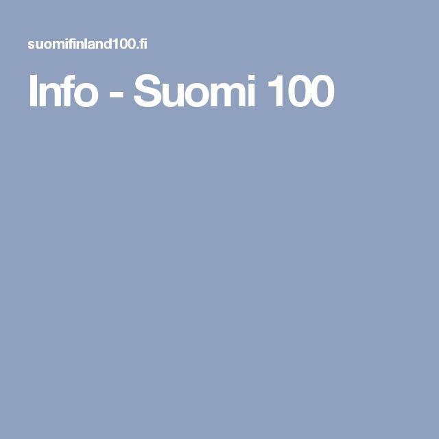 Info - Suomi 100