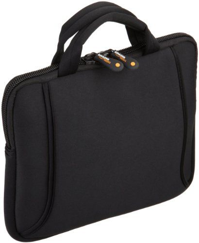 AmazonBasics Netbook Bag with Handle, Fits 7- to 10-Inch Netbooks, iPad, HP Touchpad (Black) $10.94