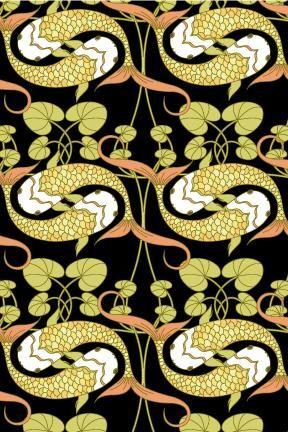 114 best Art Nouveau wallpapers images on Pinterest   Art nouveau ...