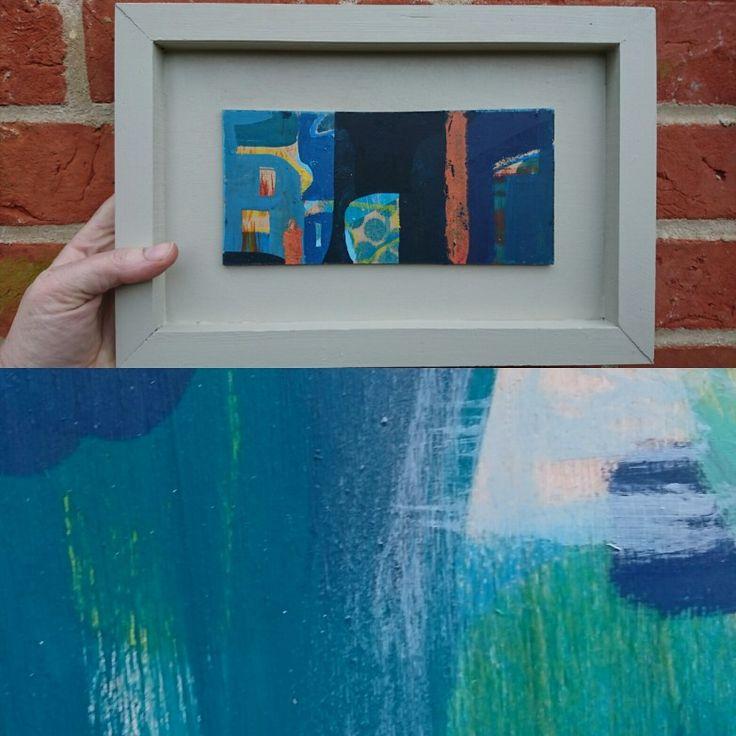 Abstract acrylic. Speak up.  Lisa Henshall. 2016
