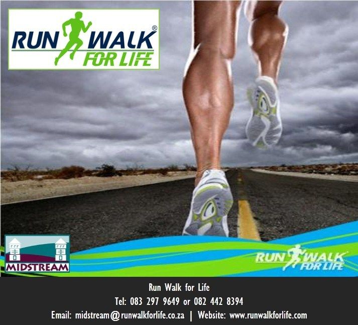 A fun way of getting fit with Run Walk for Life in Midstream, Centurion, South Africa