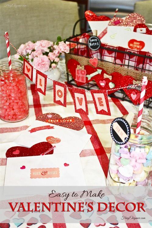 Diy Valentines Decor Valentines Easy Diy And Target