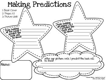 Making Predictions in 3 Steps is a fun and helpful graphic organizer for life skills classes and reading classes.