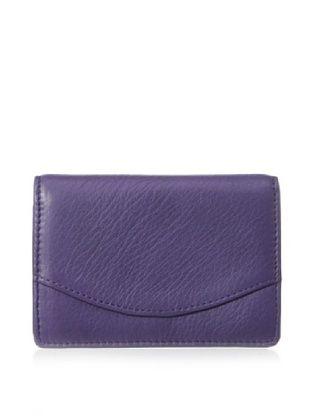 48% OFF Tusk Women's Donington Napa Business Card Holder, Purple