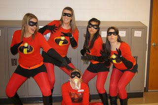 DIY Halloween Costumes. Group Costumes. The Incredibles. Teachers.