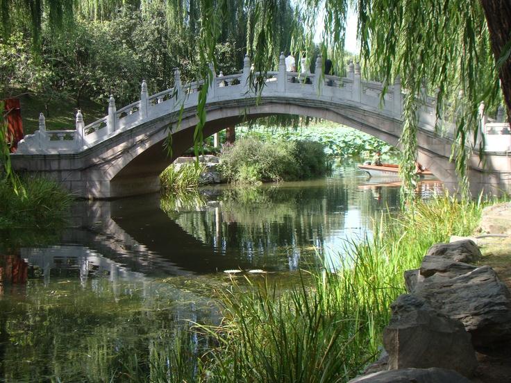 Rambling through the Summer Palace Gardens in Beijing