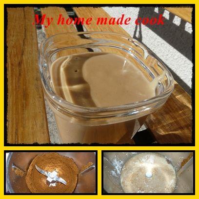 Crème dessert 'aux spéculos' façon Danette (Thermomix ou pas))