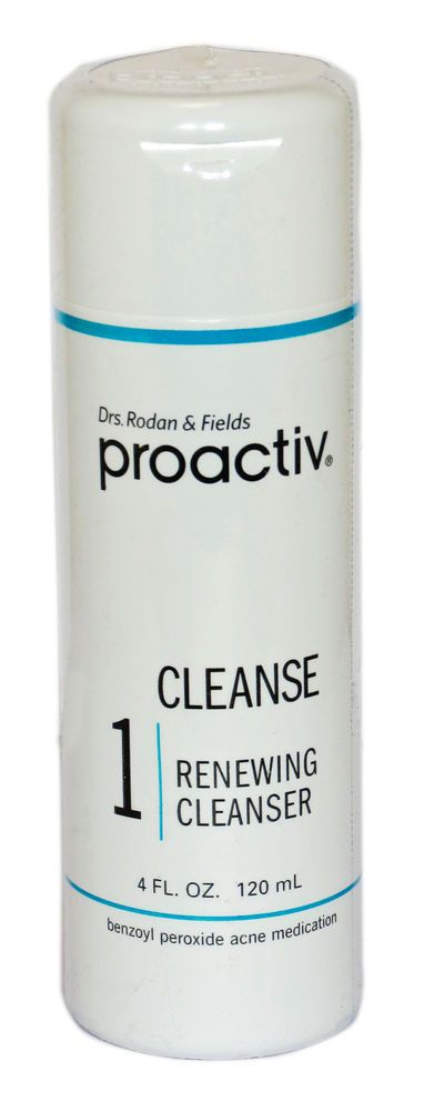 Proactiv 60 day 4oz Renewing Cleanser Proactive Acne Prevention New Sealed #Proactiv