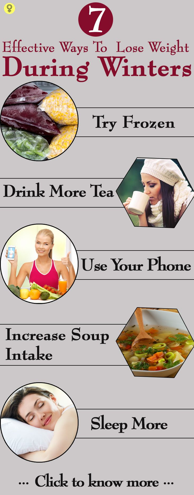 7 Effective Ways To Lose Weight During Winters : The good news is that there are...