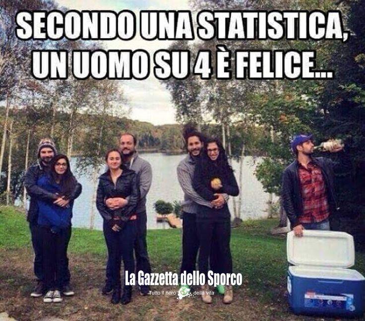Condividi:Secondo una statistica un uomo su 4 è felice Correlati