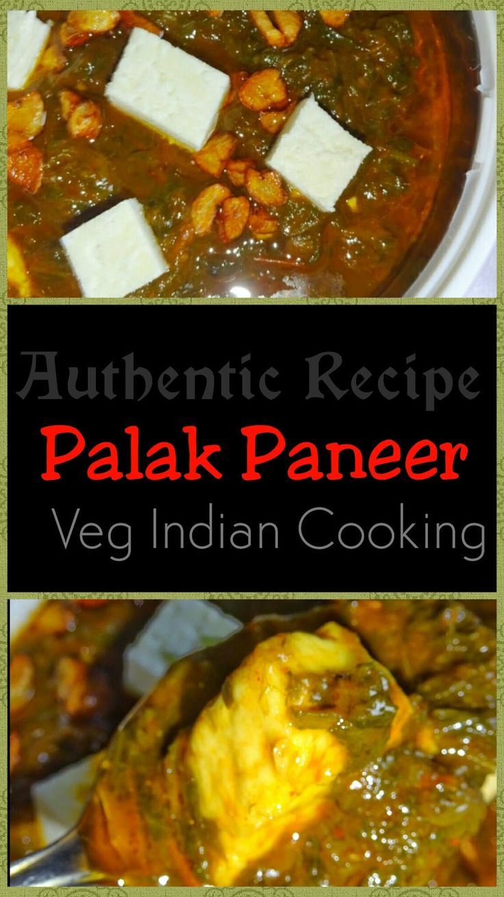 Veg Indian Cooking: PALAK PANNER (MOM'S AUTHENTIC PALAK PANEER RECIPE) MOM'S AUTHENTIC PALAK PANEER RECIPE   This Palak Paneer recipe is very quick, simple, delicious and nutritious. #Spinach is not blanched separately in this recipe. This is one pot recipe of palak paneer. Sounds very interesting, isn't it!. No more suspense, here we go. Let's learn to make Authentic #PalakPaneer #Recipe in an easy to understand step wise pictorial:   #indianfood   #Indianrecipes   #vegetarian  #vegfood…