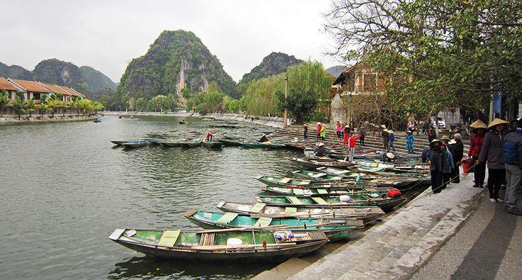 Ninh Binh - Tam Coc. #vietnam #cestovani #ninhbinh #turisti #tamcoc