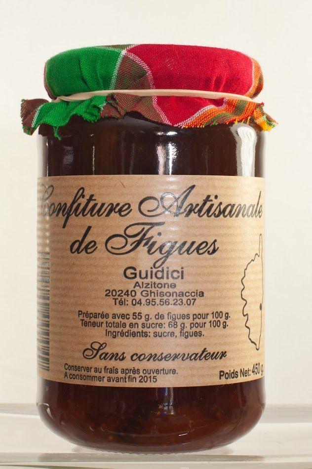 confiture de figues, hummm #Corse #MyPortoVecchio