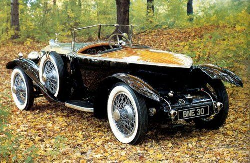 Rolls Royce Boattail Silver Ghost, 1924.  Something to keep the other car company.