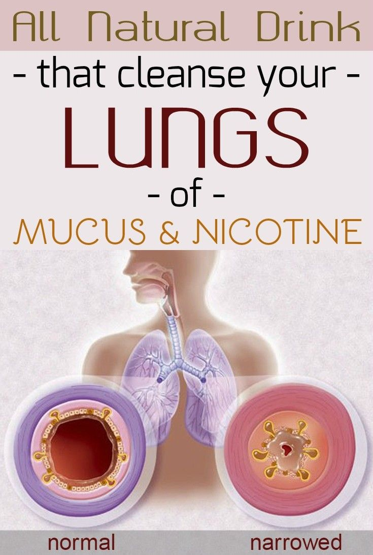 All natural drink that cleanse your lungs of mucus and nicotine - WomenDiva.com