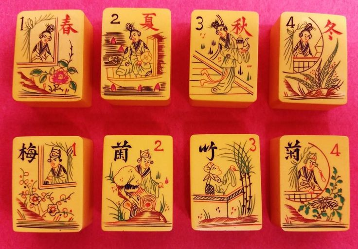 764 best mah jongg tiles images on pinterest