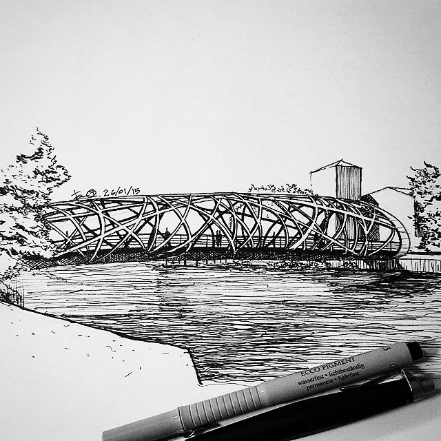 Architectural Drawings Of Bridges 3209 best architectural drawings and sketches images on pinterest