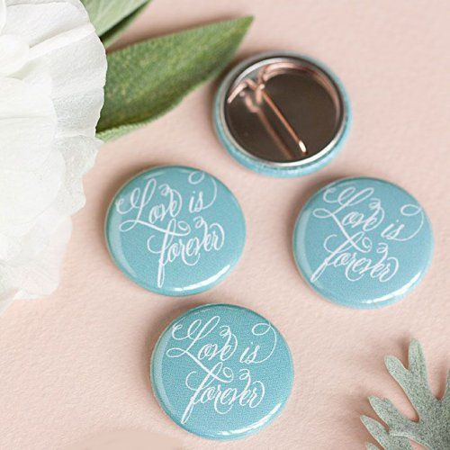 Personalized Button Pins by Beau-coup
