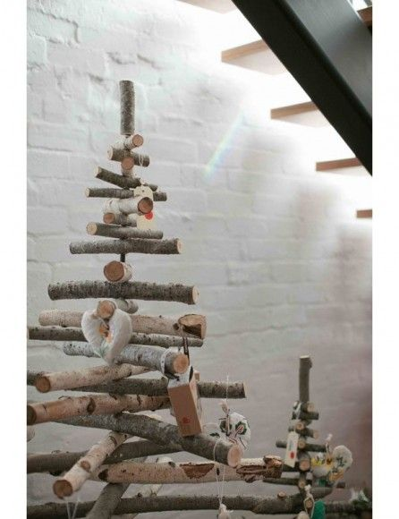 Sapin de Noël en branches