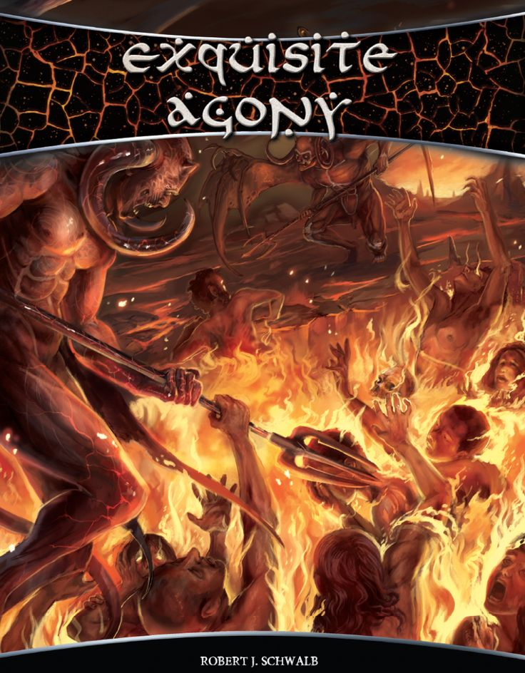 Exquisite Agony - Schwalb Entertainment | DriveThruRPG.com