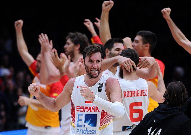 España no vio la instantánea de la alegría