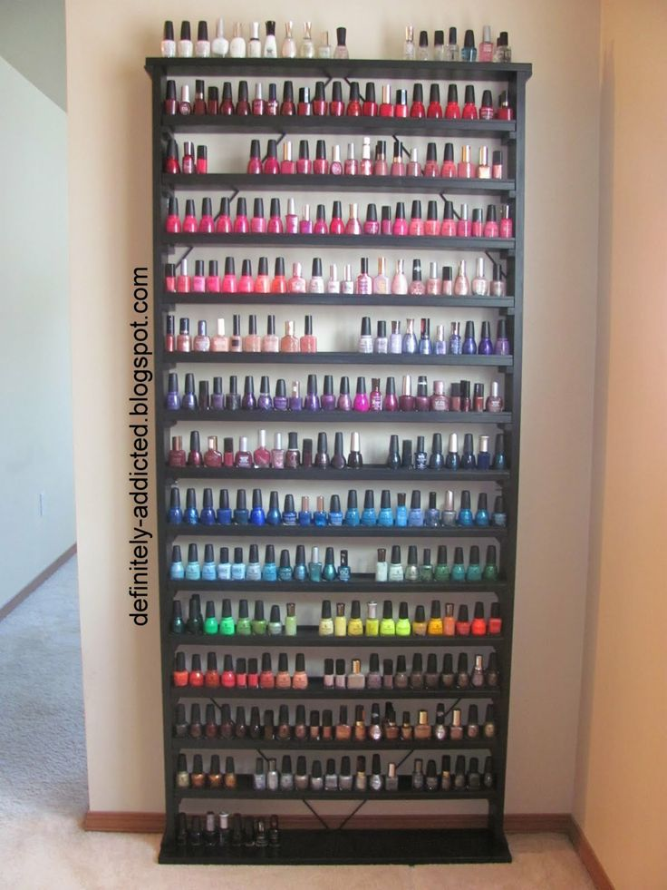 My Modest Dream Is To Have A Shelf Like This One Filled With O P I Nail Polish