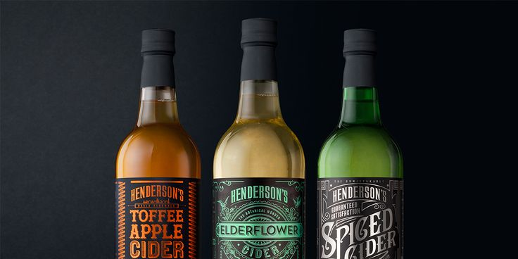 Henderson's Cider redesign — The Dieline - Branding & Packaging Design