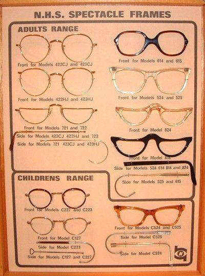 NHS glasses