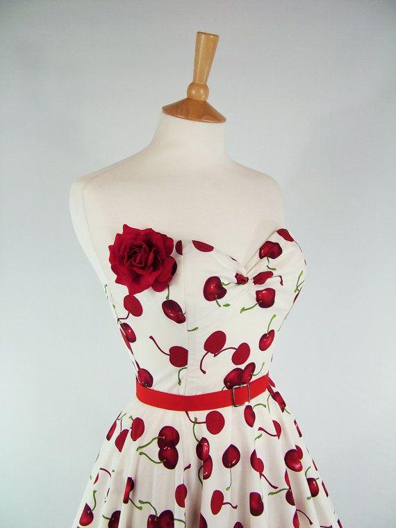 $90 amazing cherry dress