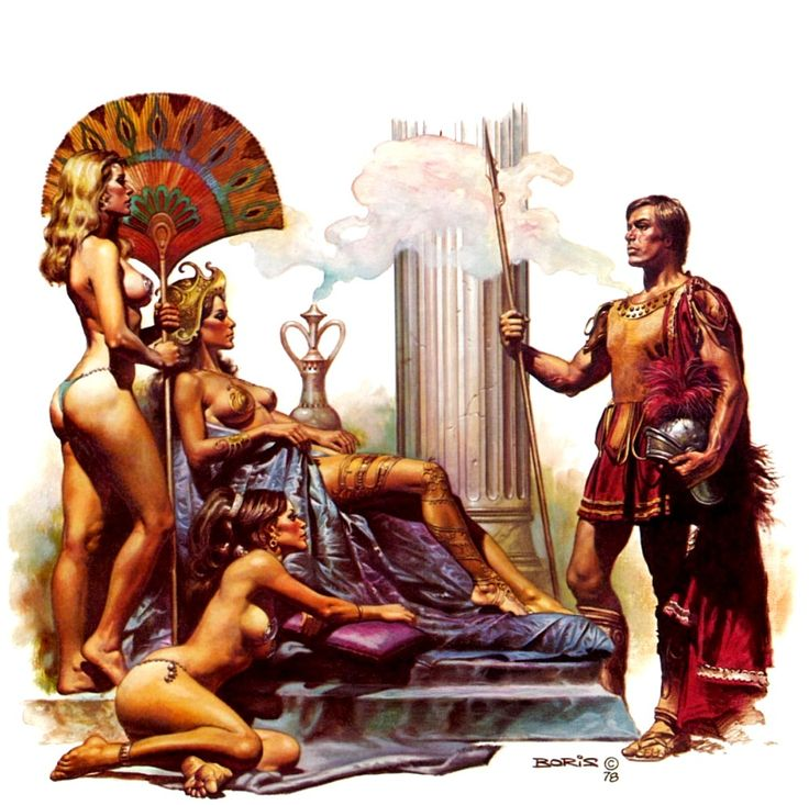 Slaves of the Empire / 4 / Gracus the Centurion 1979 / 1978 (Boris Vallejo)