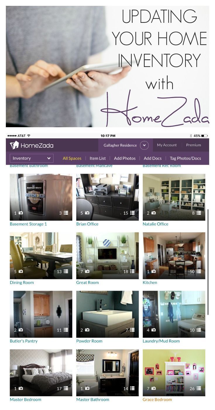 Got an outdated or half-completed home inventory? Check out these tips for updating your home inventory using the HomeZada app!