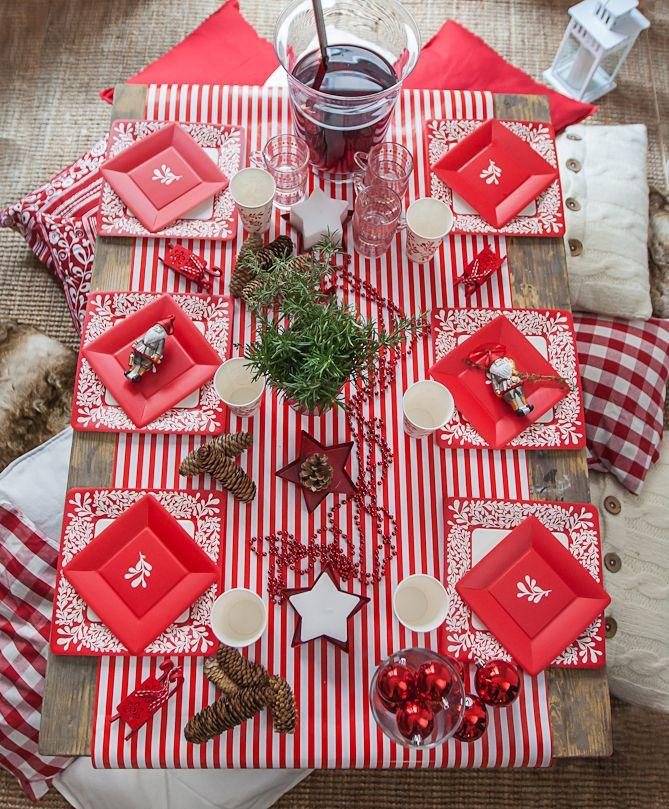 Karácsonyi teríték IKEA